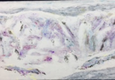 The Snow White-60x110-Oil on Canvas
