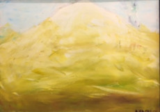 Yellow Mountain-50x70-Oil on Canvas