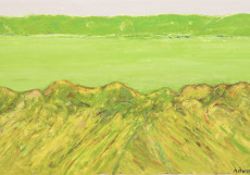 The Green Fields-120x200-Oil on Canvas