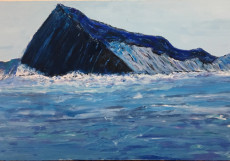 The Iceberg-115x200-Oil on Canvas