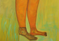 Marilyn's Legs-180x130-Oil on Canvas