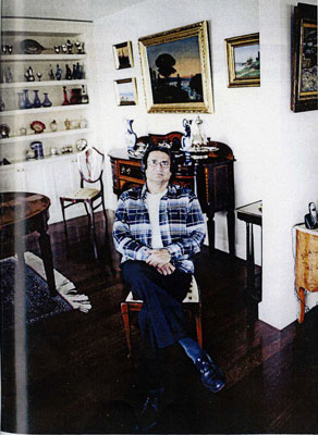 Ahmet Merey is a very passionate art collector.